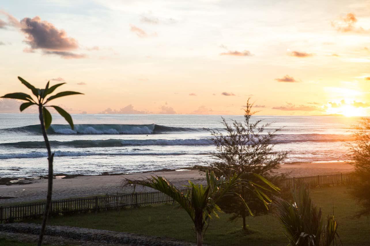A-Frame facing Mahi Mahi Surf Resort