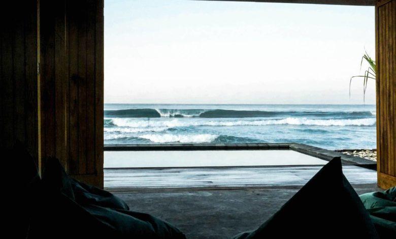 Photo of Surfing Empty Beach-Break at our Doorstep, in Sumatra