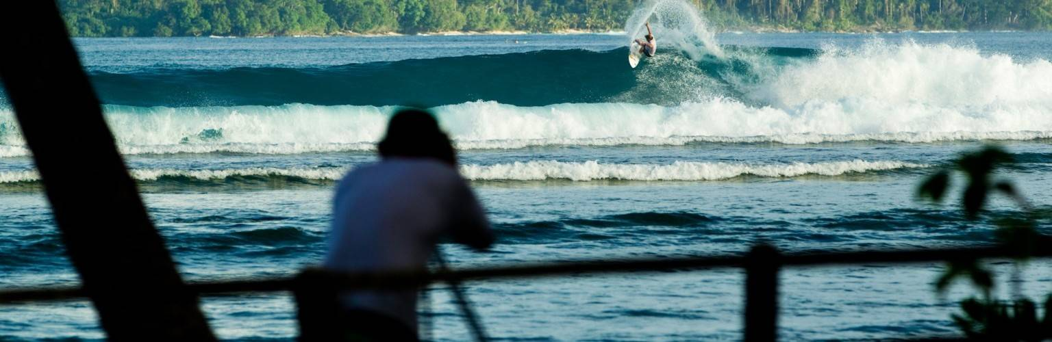 Off the beaten track surf camp
