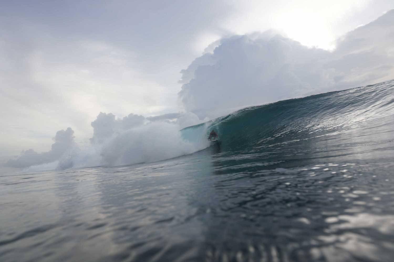 Surfing Mentawais